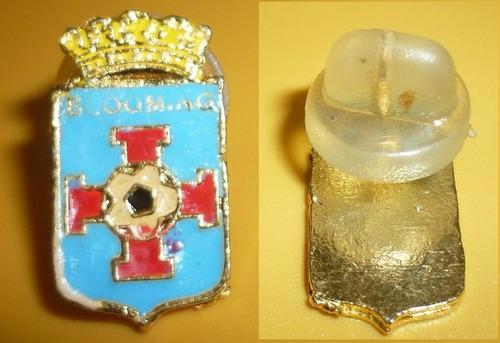 raro pin distintivo futbol club blooming de bolivia 1980