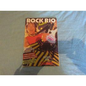 Raro Poster Rock Rio Festival Ozzy Som Tres -1.10 X 0.80