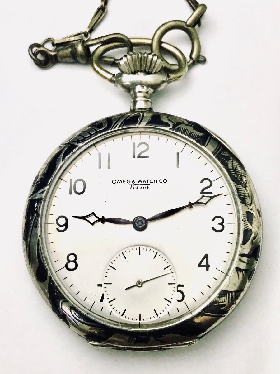 893bd7da57e raro relogio de bolso omega watch cº tissot em arte niello. Carregando zoom.