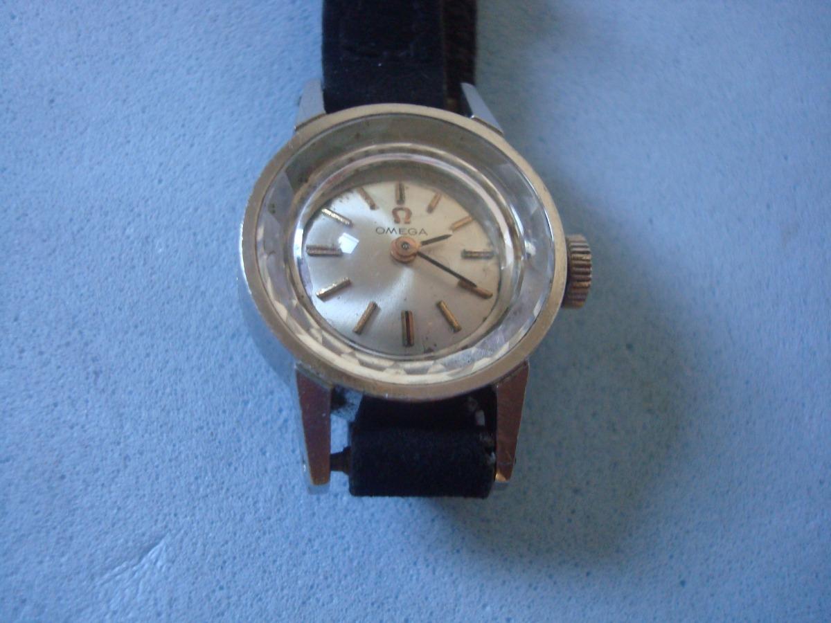 691ace81a3a raro relógio pulso omega - suisso - antigo - corda. Carregando zoom.