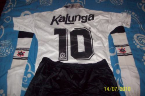 Raro Uniforme Corinthians Finta91 92 Camisa short meião - R  450 eca990a2f6137