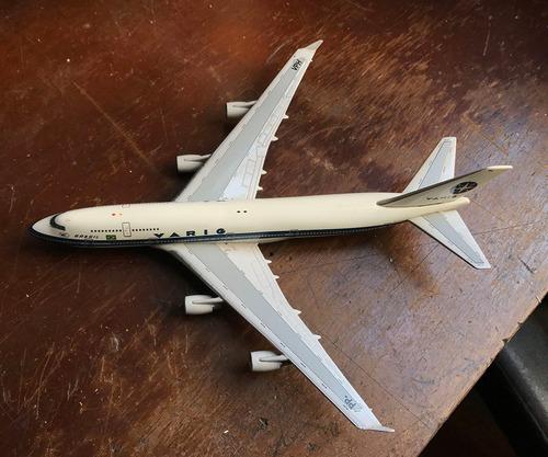 raro *** varig - boeing 747-400 aeroclassics pp-vph