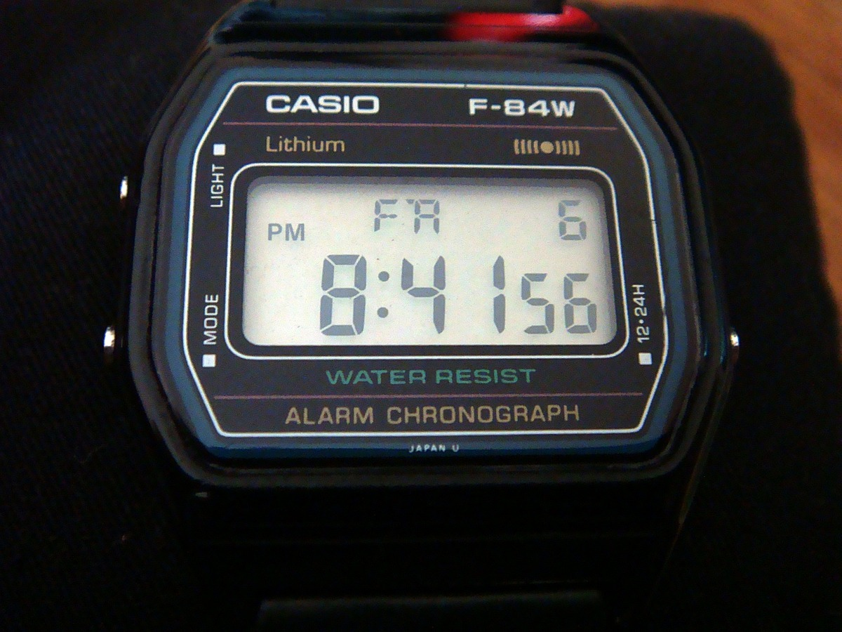 bbae9b5bbdf9 Raro Y Escaso Reloj Casio F-84w De Colección. Japan. -   699.00 en ...