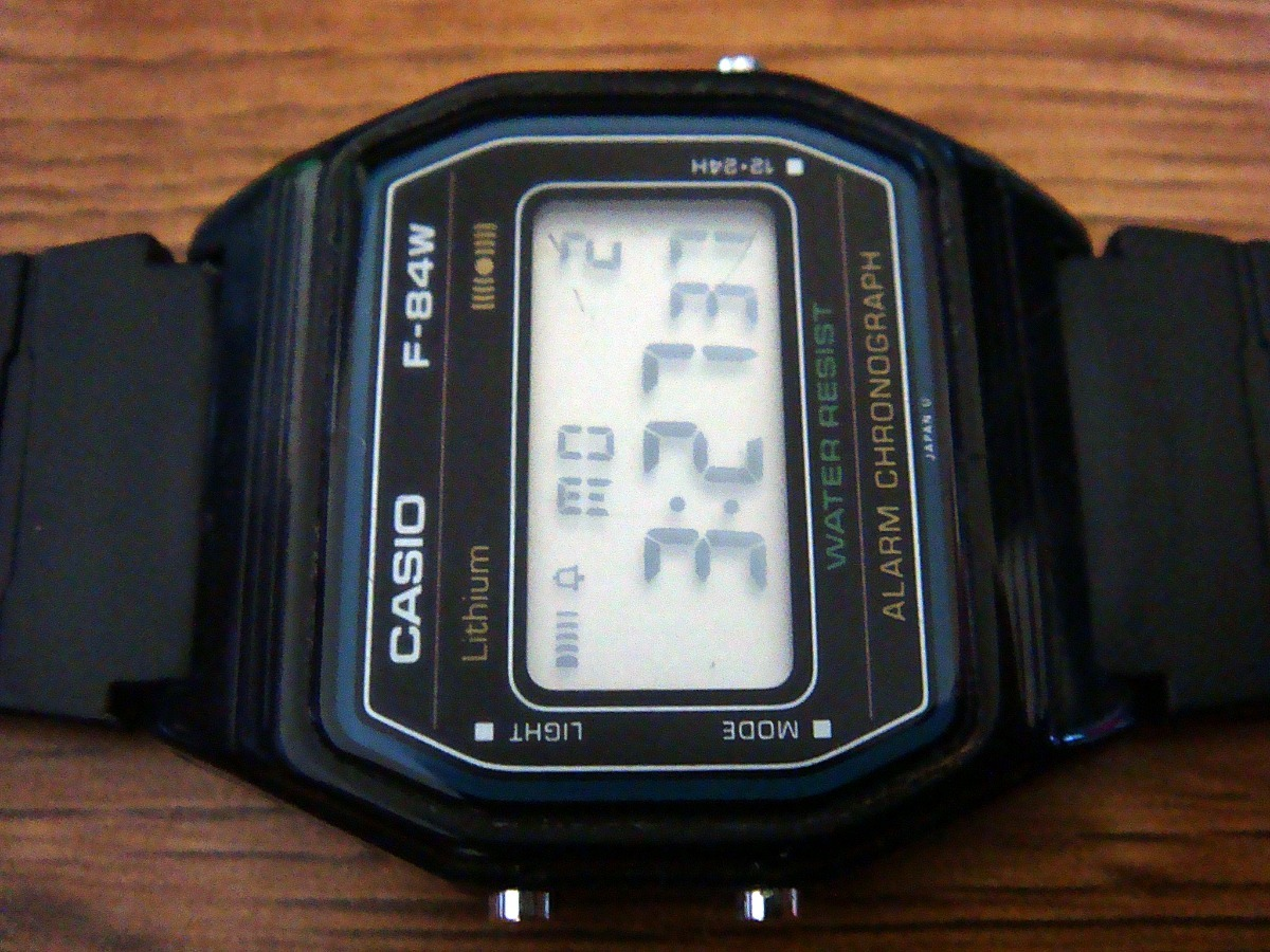 1b20f65d9324 Raro Y Escaso Reloj Casio F-84w Ii De Colección. Japan. -   699.00 ...
