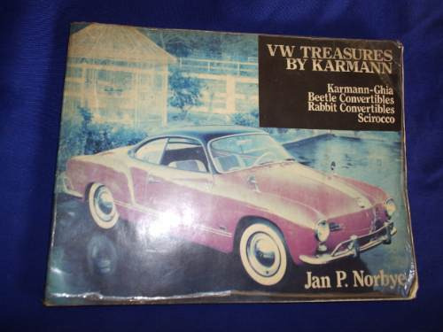 raro!!livro,literatura, karmann guia,vw treasures by karmann