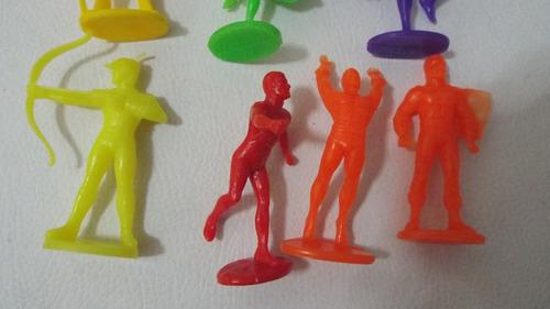 raros bonecos caketoppers para bolo dc comics super herois
