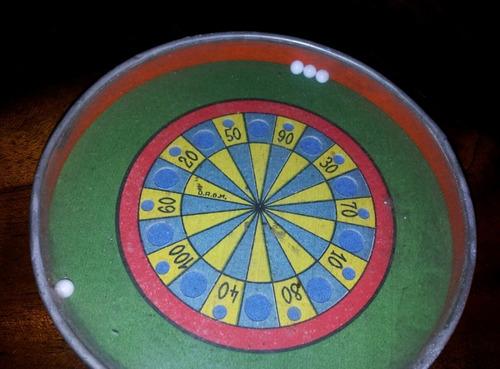 raros dos antiguos juegos destreza alemán circa 1900 chapa