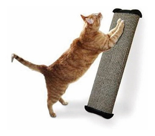 rascador gato grande afilador uñas 48cm juguete
