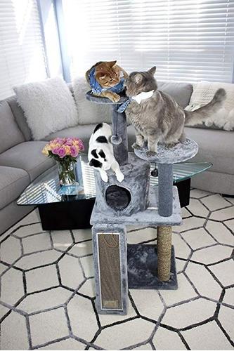 rascador gimnasio arañador grande casa multicats cama gatos