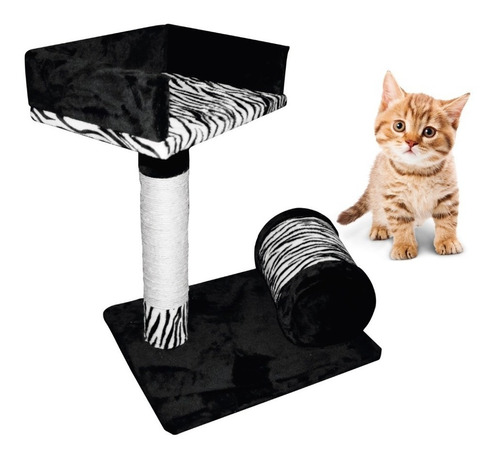 rascador gimnasio para gato  cama descanso + fabricante