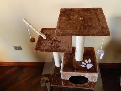 rascador para gatos, gimnasio para gatos, arañador catito