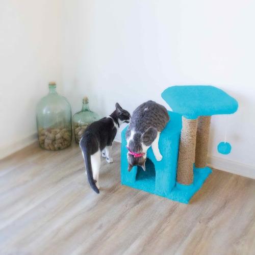 rascador para gatos premium decocat - zeus