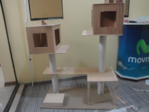 rascadores-misshu - arañadores - casitas - modernas