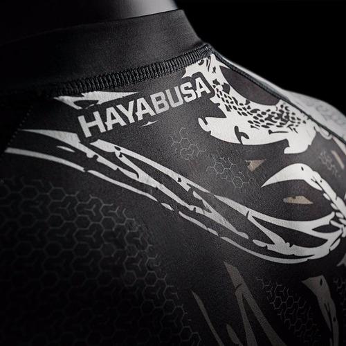 rashguard compresion hayabusa lycra mma crossfit jiu jitsu