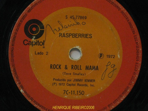 raspberries compacto 7 don't want to say goodbye + rock e