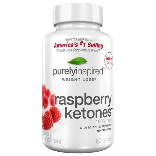 raspberry ketones+ 1200 mg  60 caps. purely inspired