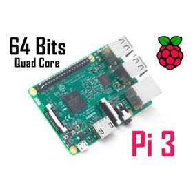 Raspberry Pi 3 (pi3) Quadcore 1.2ghz (10x+rapido) 1gb