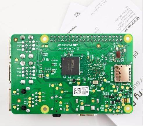 raspberry pi 3 + case oficial + disipadores + fuente 5v 2.5a