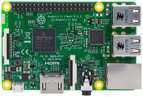 raspberry pi 3 modelo b 2016 1.2 ghz 1gb wifi bluetooth