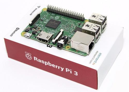 raspberry pi 3 modelo b wifi bluetooth minipc ultima versión