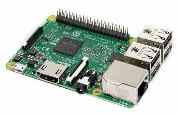 raspberry pi 3 pi3 quadcore 1.2ghz, 10x+rapido, 1gb na caixa