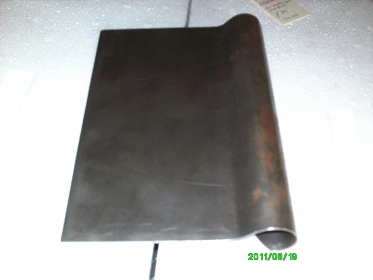 rasqueta nueva chapa hierro espesor 1 mm una pieza 14x20