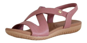 e249ac38c Sandalia Rasteira De Couro Usaflex - Sapatos com o Melhores Preços no  Mercado Livre Brasil