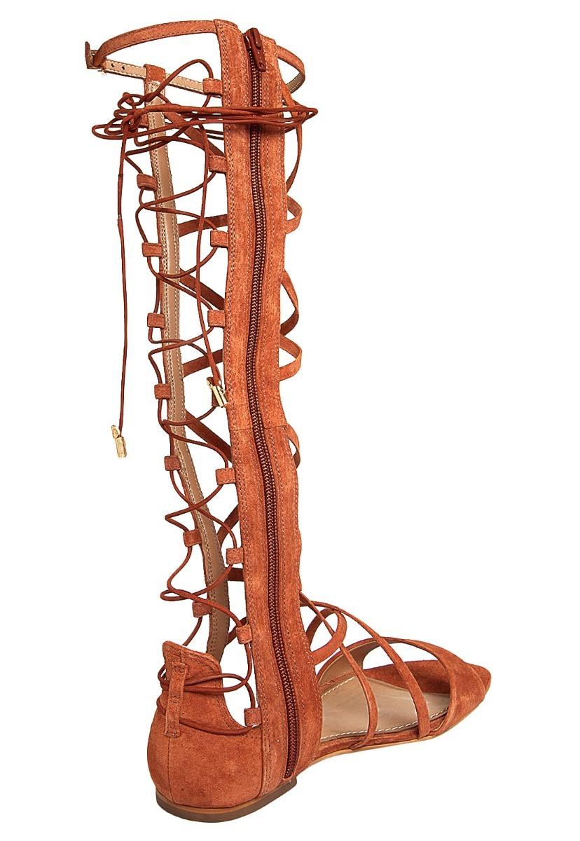 426fa04a0 Rasteira Dumond Gladiadora Conhaque - R$ 189,90 em Mercado Livre