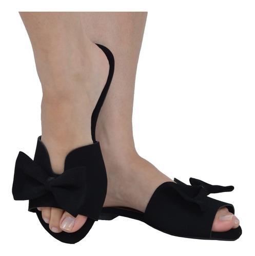 rasteira feminina sandalia rasteirinha laço promoçao 855