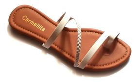 c76a271f4 Sandálias Traçadas - Calçados, Roupas e Bolsas com o Melhores Preços no  Mercado Livre Brasil