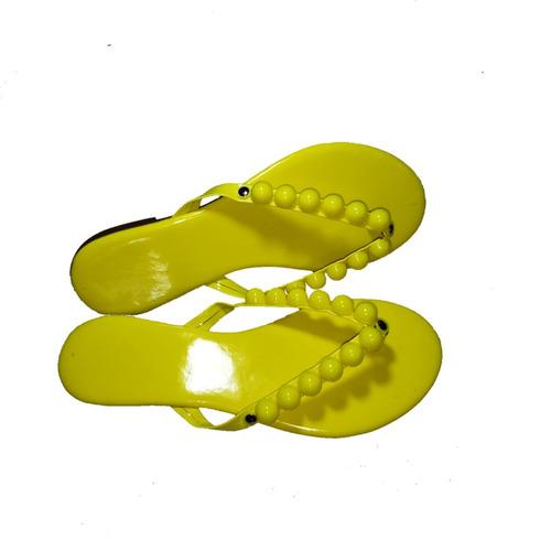 rasteirinha neom esfera amarelo