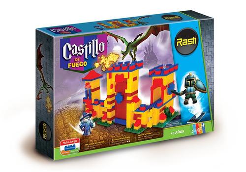 rasti castillo de fuego 400 piezas + 4 nodos tienda oficial