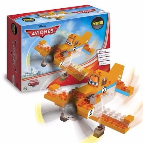 rasti disney pixar aviones dusty 58 pz - tienda oficial -