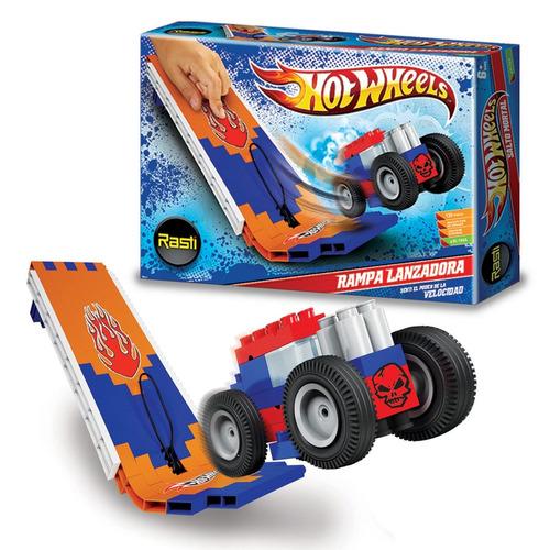 rasti hot wheels rampa lanzadora 130 pz  - tienda oficial -