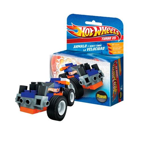rasti hotwheels turbo xs 37 piezas  - tienda oficial -