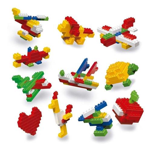 rasti kit 200 piezas basicas original bloques ladrillos