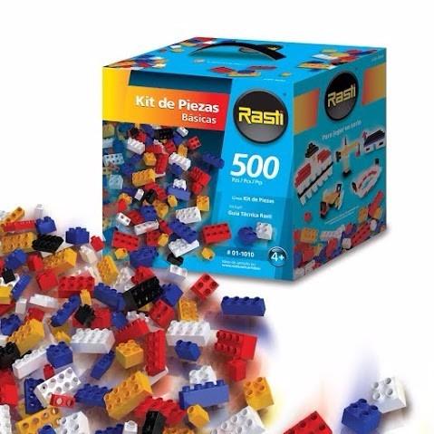 rasti kit de piezas básicas 500 pz - tienda oficial -