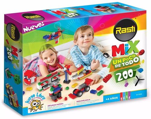 rasti mix 200 piezas ladrillos bloques en smile