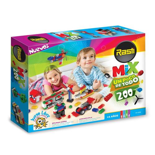 rasti mix 200 piezas  - tienda oficial -