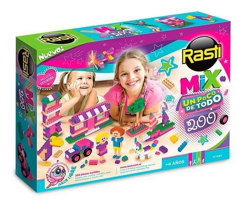 rasti mix  nenas 200 piezas bloques 01-1082 original edu