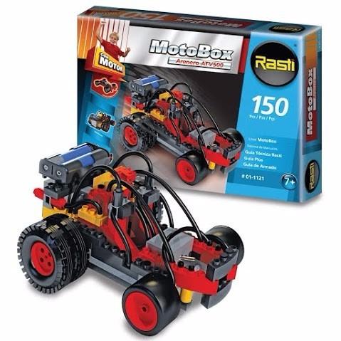 rasti motobox arenero 150 piezas juguete rasti