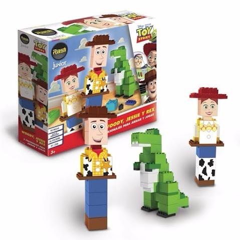 rasti toy story woody jessie y rex - tienda oficial rasti -