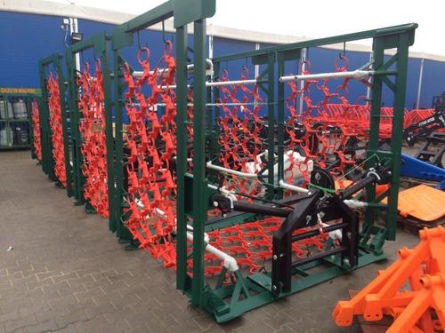 rastra de cadenas, regeneradores de praderas