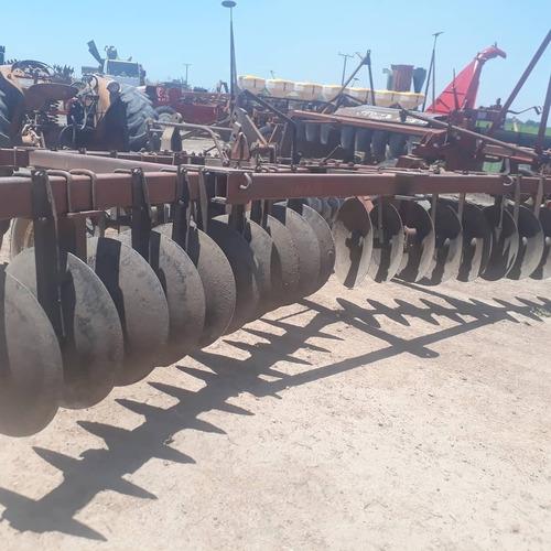 rastra doble accion apache semi pesada. 40 discos.