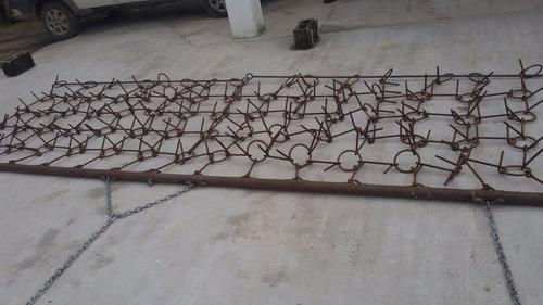 rastras de cadenas para sembradoras