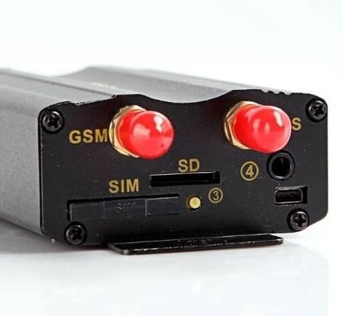 rastreador bloqueador localizador alarm gps tk103 p/ entrega