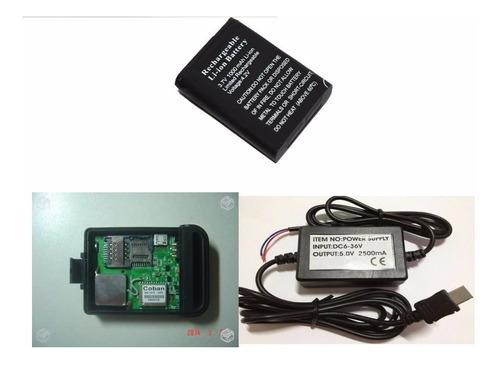 rastreador coban tk102b / tk 102b + carregador veicular