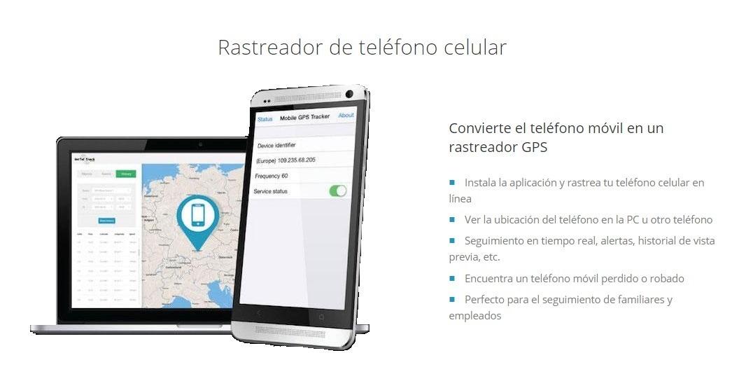 rastreador de celulares en tiempo real