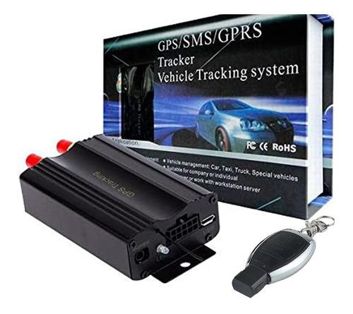 rastreador e bloqueador para caminhão coban tk-103b