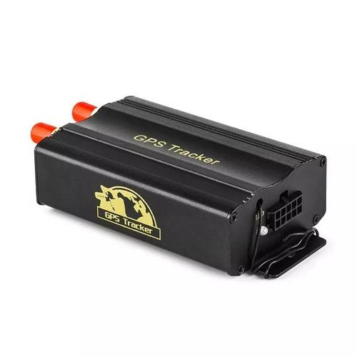 rastreador gps bloqueador veicular controle remoto tk-103b